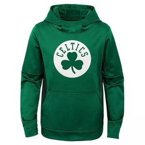 Boys Boston Celtics Performance Pullover Hoodie